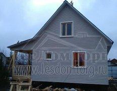 Каркасный дом с сайдингом, проект Кондор-2К