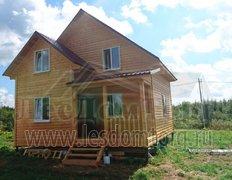 Каркасный дом, проект Лотос-1К