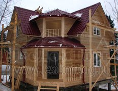 Каркасный дом, проект Охотник