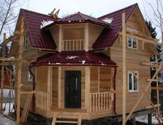Каркасный дом, проект Охотник-2К (К-226)