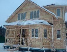 Каркасный дом с мансардой, проект Печенег