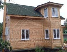 Каркасный дом с эркером, проект Печенег