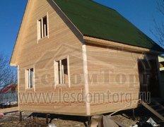 Каркасный дом, проект Теремок
