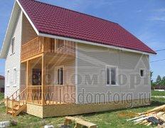 Каркасный дом, проект Василёк