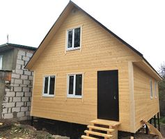 Каркасный дом по проекту Алтай 1К 6х8