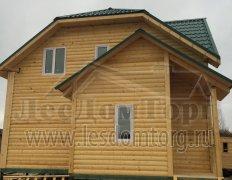 Дом из бруса, проект Азов-2