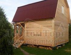 Дом из бруса, проект Чехов