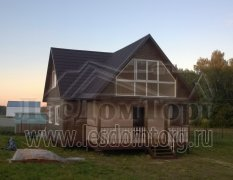 Дом из бруса, проект Добрыня