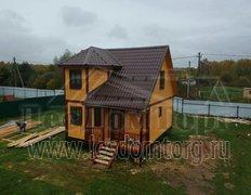 Дом из бруса, проект Флагман-1Д