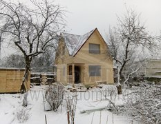 Дом из бруса, индивидуальный проект 6х6