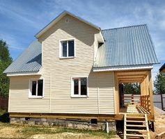 Каркасный дом по проекту Домодедово-2, 6х8