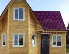 Каркасный дом по проекту Олимп-1 К, 7.0х7.5. Зимняя комплектация.