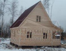 Дом из бруса, проект Кондор