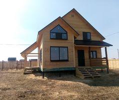 Дом из бруса, проект Лотос 8х8