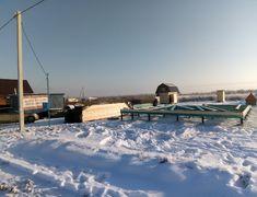Дом из бруса, проект Лотос 8х8 (начало строительства)