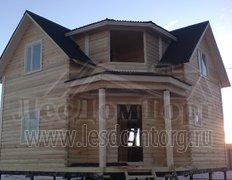 Дом из бруса, проект Охотник