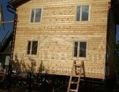 Дом из бруса, проект Садовод-1