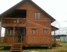 Дом из бруса, проект Василек-1