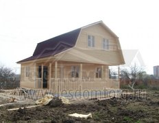 Дом из бруса, проект Витязь-2