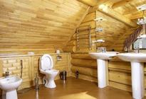 Расположение санузла в деревянном доме