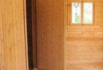 Утепление входной двери в баню
