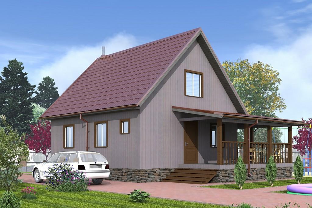 компании относится дом с двускатной крышей и террасой фото некоторое время кончине